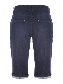 Mens 3/4 Length Denim Shorts