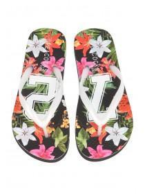 Older Girls Floral 72 Eva Flip Flops