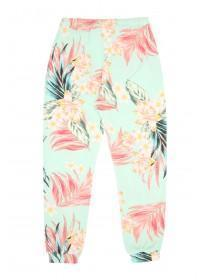 Older Girls Aqua Floral Pyjama Pants