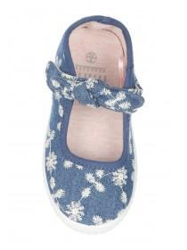 Younger Girls Light Blue Lemming Shoes