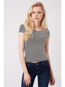 Jane Norman Mono Bardot Top