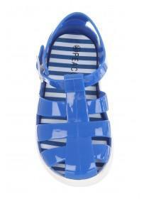 Younger Boys Blue Jelly Shoes