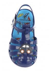 Baby Boys Blue Jelly Sandals