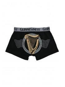 Mens Black Licence Guinness Boxer