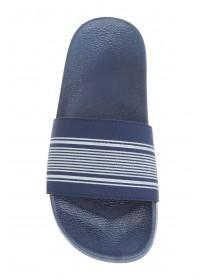 Younger Boys Blue Pool Slider Sandals