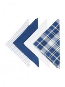 Mens Dark Blue Handkerchiefs