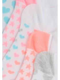 Girls 5PK Trainer Socks