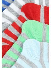 Boys 5PK Grey Trainer Socks