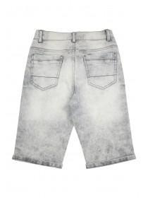 Older Boys Grey Denim Shorts