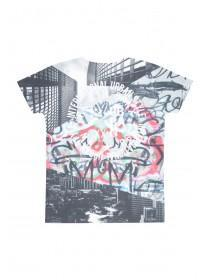 Older Boys Graffiti Subliminal T-Shirt