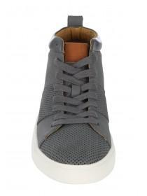 Mens Sporty High Top Trainers