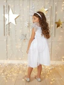 Kids White Angel Fancy Dress Outfit