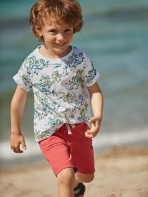 Younger Boys Coral Shorts