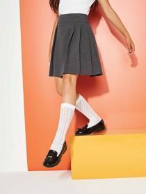Older Girls Black Back To School Loafer Shoes