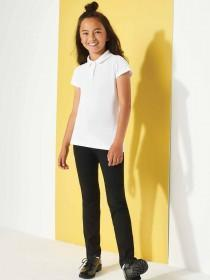 Older Girls Black Back To School Straight Leg Trousers