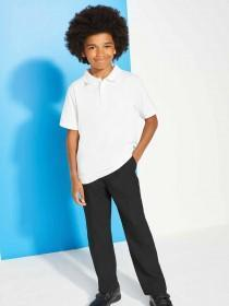 Older Boys 2pk White Polo Shirts