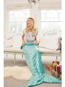 Womens Aqua Mermaid Tail