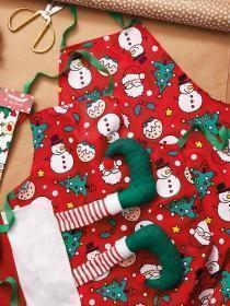 Novelty Christmas Apron