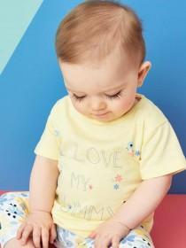 Baby Girls Lemon Slogan T-Shirt
