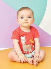 Baby Girls 3pk Jungle T-Shirts