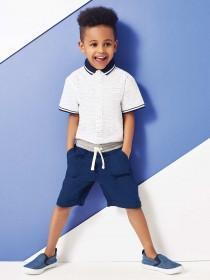 Younger Boys Navy Shorts