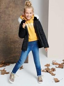 Older Girls Black Padded Jacket