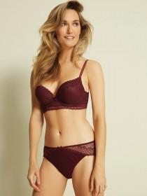 Womens Berry Lace Briefs