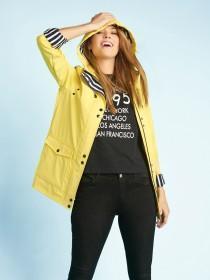 Womens Yellow Mac Jacket