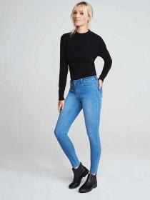Womens Black Flat Chelsea Boots