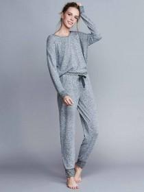 Womens Grey Lounge Trousers