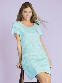 Womens Aqua Night Dress