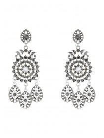 Womens Statement Chandelier Earrings