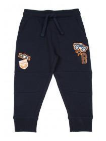 Younger Boys Slim Fit Truck Badge Joggers