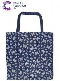 Womens Blue Cancer Research UK Bag For Life