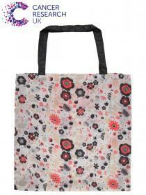 Womens White Cancer Research UK Bag For Life