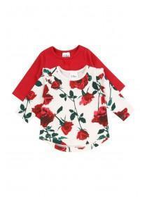 Baby Girls 2PK Floral Long Sleeved T-Shirt