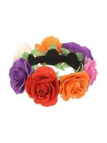 Womens Rose Hair Garland