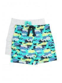 Baby Boys 2PK Blue Shorts
