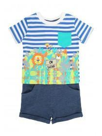Baby Boys Safari T-Shirt & Short Set