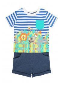 Baby Boys Safari T-Shirt & Short Set