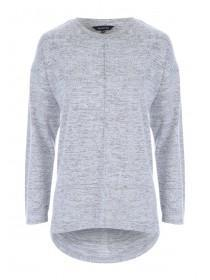 Womens Grey Cosy Top