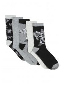 Womens 5pk Socks