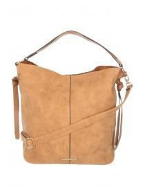 Womens Tan Tassel Handbag