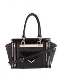 Womens Patent Clara Tote Bag