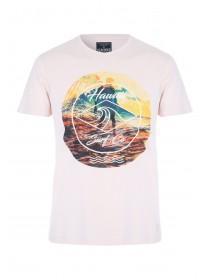 Mens Peach Hawaii Surf Co T-Shirt
