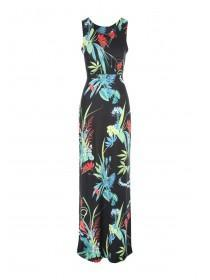 Jane Norman Tropical Print Maxi Dress