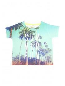 Baby Boys Tropical Sublimation T-Shirt