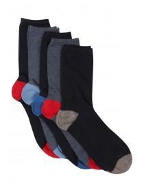 Boys 5pk Assorted Socks