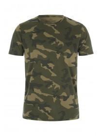 Mens Khaki Camo T-Shirt