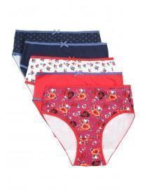 Girls 5pk Floral Briefs